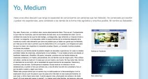 blog medium